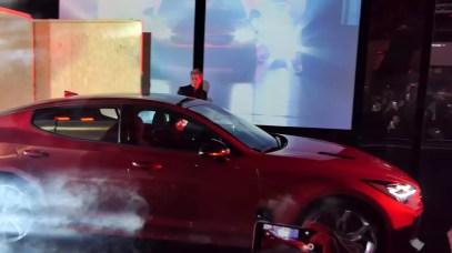 Presentación Kia Stinger GT 2018