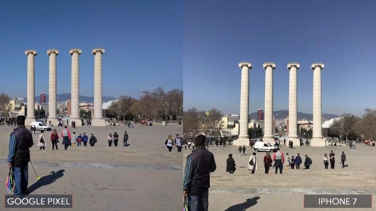 Comparativa Google Pixel vs iPhone 7
