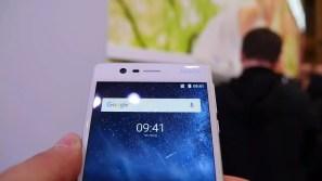 Cñámara frontal del Nokia 3