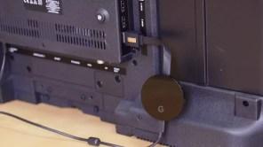 Chromecast Ultra conectado