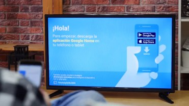 Imagen de Chromecast Ultra en TV