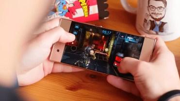 Jugando con el Sony Xperia XA1
