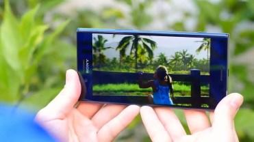 Pantalla del Sony Xperia XZ Premium