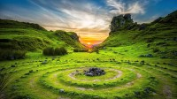 Fondos de pantalla inspirados en la naturaleza campo verde