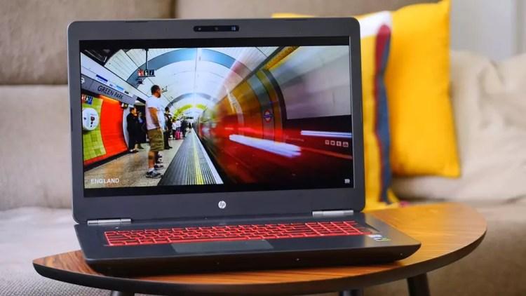 Pantalla del portátil HP Omen