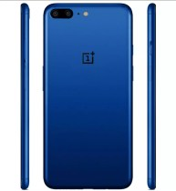 OnePlus 5 de color azul