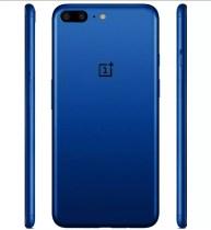 OnePlus 5 de color azul