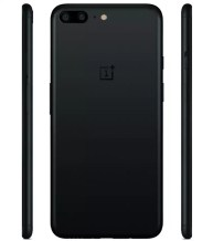 OnePlus 5 de color negro