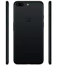 OnePlus 5 de color negro