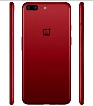 OnePlus 5 de color rojo