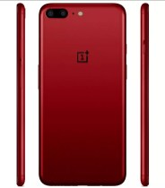 OnePlus 5 de color rojo
