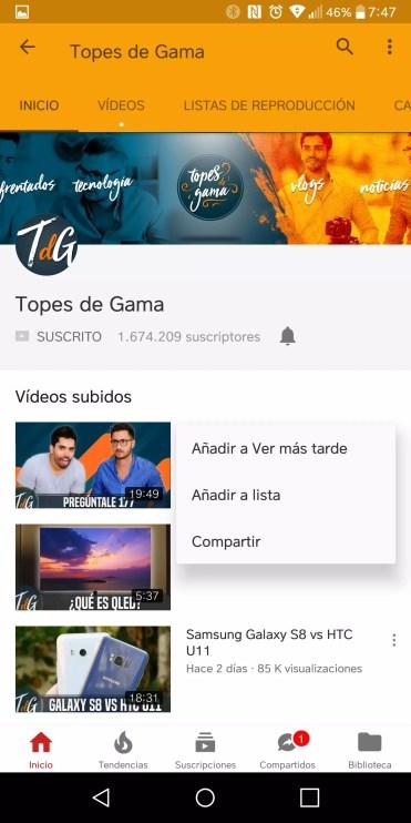 Lista YouTube