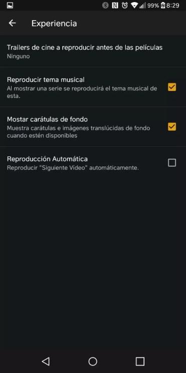 Reproducción automática deshabilitada en Plex