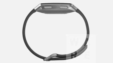 Aspecto del lateral del smartwatch de Fitbit