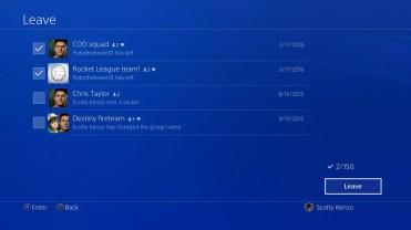 Opciones amigos en PlayStation 4 5.0