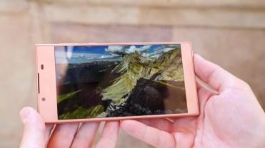 Pantalla integrada en el Sony Xperia L1