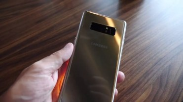 Trasera Samsung Galaxy Note 8