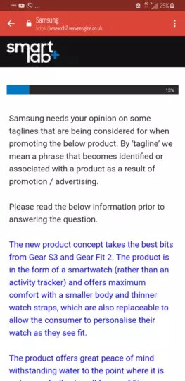 Preguntas nuevo wearable Samsung