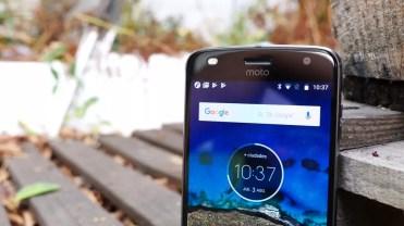 Interfaz de usuario en el Moto Z2 Play