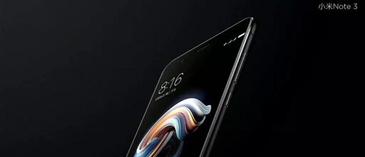Imagen Xiaomi MI Note 3 precio