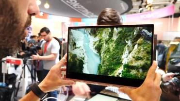 Pantalla integrada en el Lenovo Yoga 920