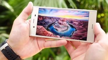 Panel del teléfono Sony Xperia XZ1