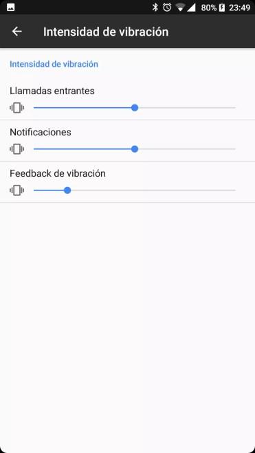 Vibración lector BQ Aquaris X Pro