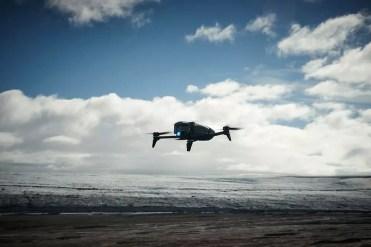 Vuelo del drone Parrot Bebop 2 Power