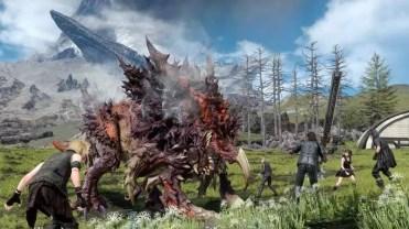 Imagen calidad Final Fantasy XV