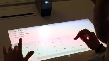 Teclado Sony Xperia Touch