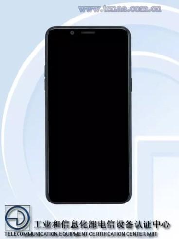 Imagen frontal del Oppo A73