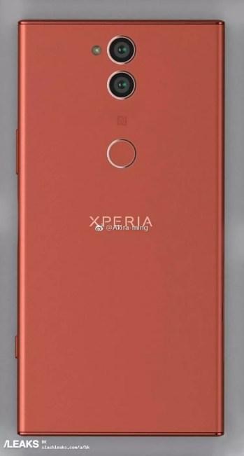 Trasera del sucesor del Sony Xperia XZ1