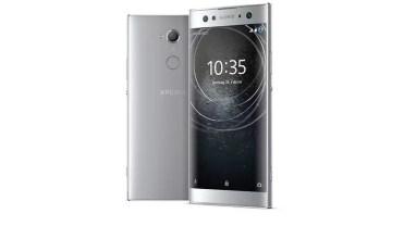 Sony Xperia XA2 color gris