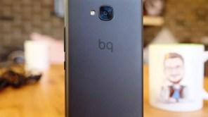 Trasera del teléfono BQ Aquaris U2
