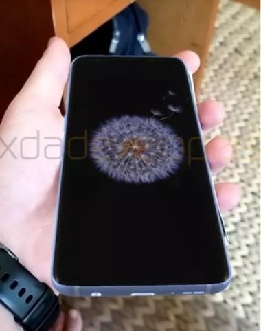 Altavoz estéreo del Samsung Galaxy S9