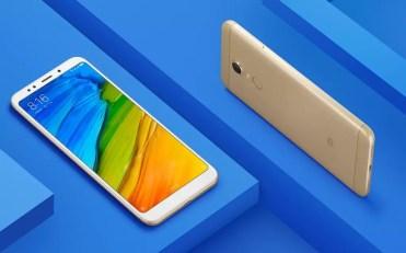 lateral del Xiaomi Redmi Note 5