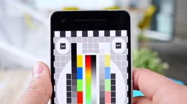 Calidad del panel del Google Pixel 2