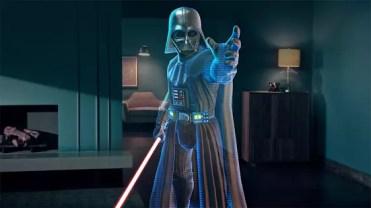 Escena de la aplicación Star Wars: Desafíos Jedi