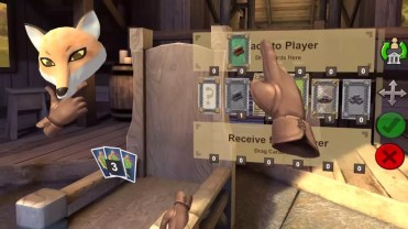 Cartas en catan VR