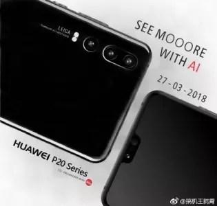 Imagen proporcional cámara del Huawei P20