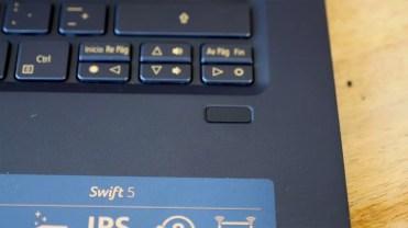 lector de huellas Acer Swift 5