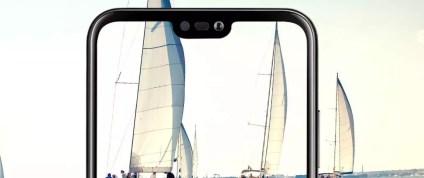 Notch del teléfono Huawei P20 Lite