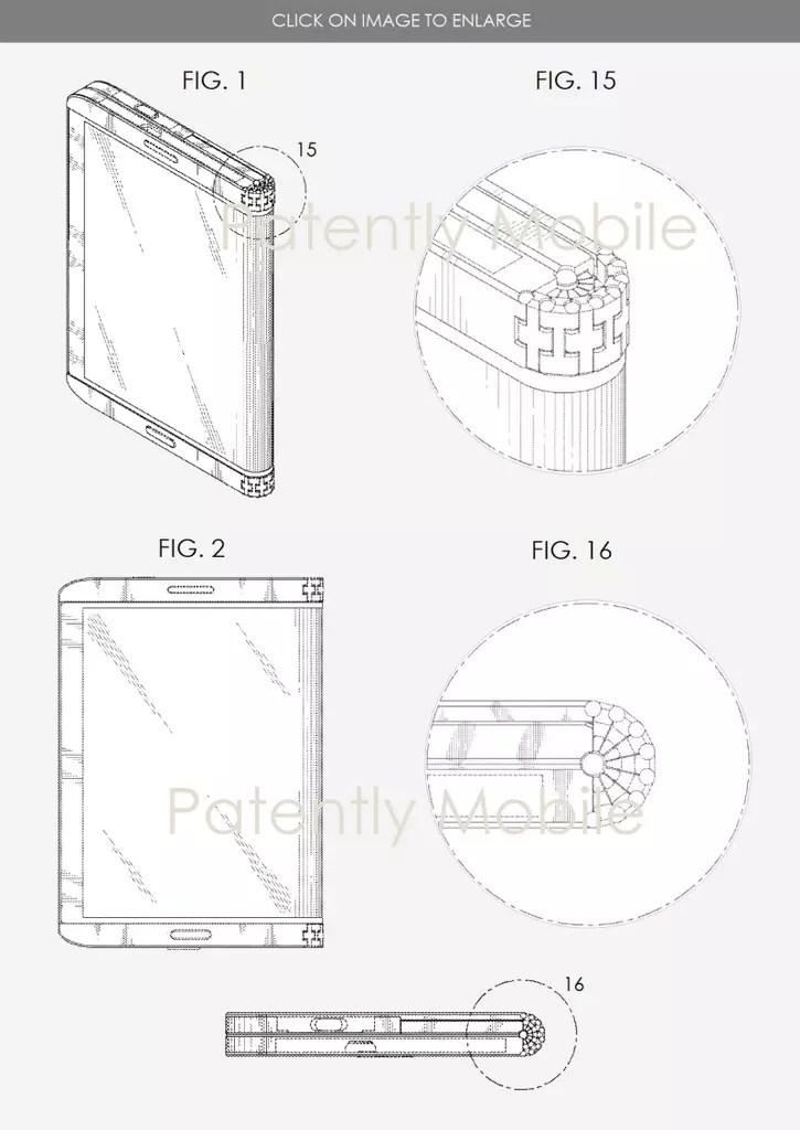 Patente del Samsung Galaxy X