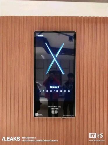 Fechad e presentación del Nokia X
