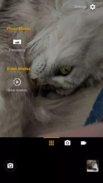 Motorola Moto G6 opciones camara