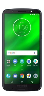 Imagen frontal del Motorola Moto G6 Plus