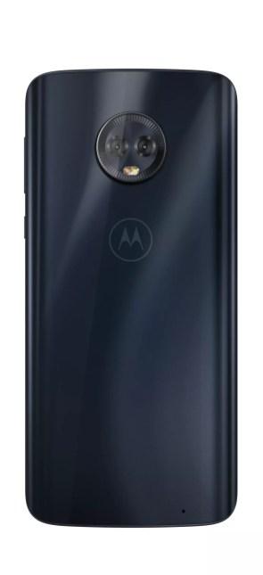 Imagen trasera del Motorola Moto G6 Plus