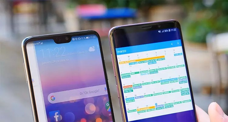 Comparativa del Samsung Galaxy S9+