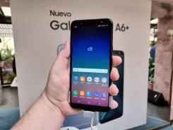 Imagen frontal del Samsung Galaxy A6