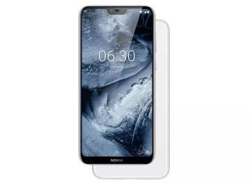 Imagen frontal del Nokia X6